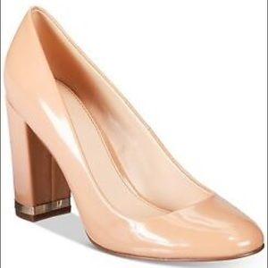 Bar III Selena Nude Patent Heel
